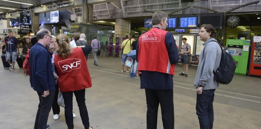 Grève SNCF (Witt - Sipa)