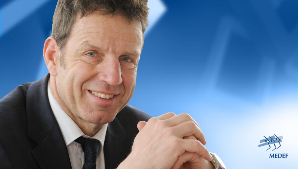 Geoffroy Roux de Bézieux, nouveau président du MEDEF